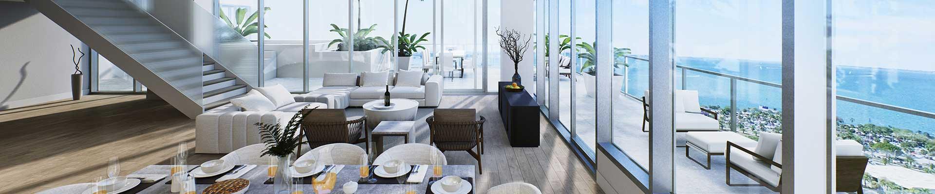 Penthouse Floorplans BLVD SArasota
