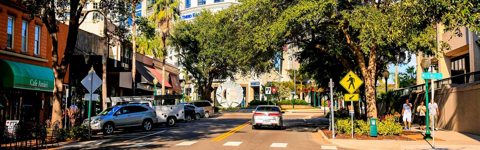 BLVD Sarasota, downtown Sarasota, walkability