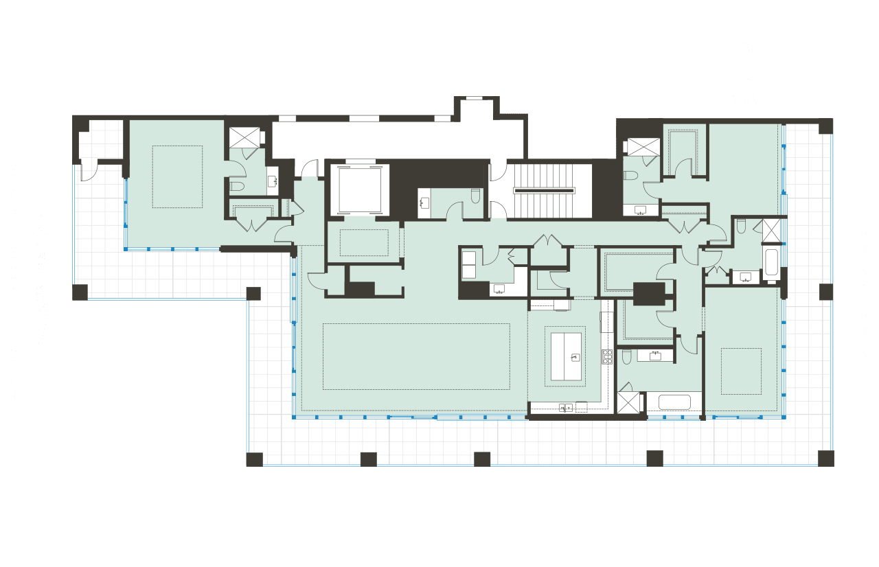 Floorplan D BLVD SArasota