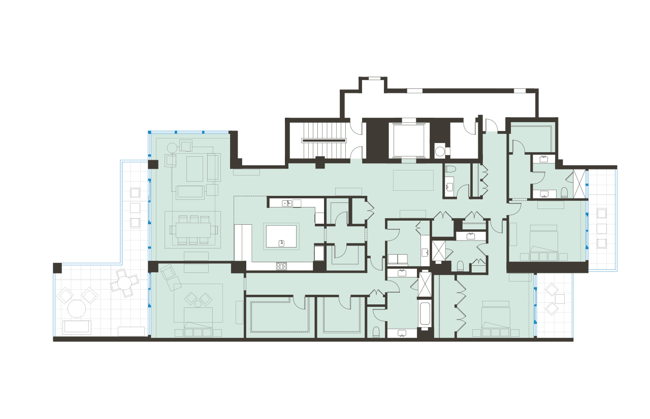 Floorplan L BLVD Sarasota