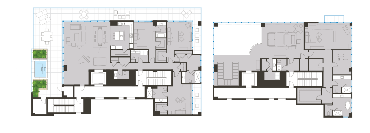 Penthouse Floorplan 01 BLVD Sarasota