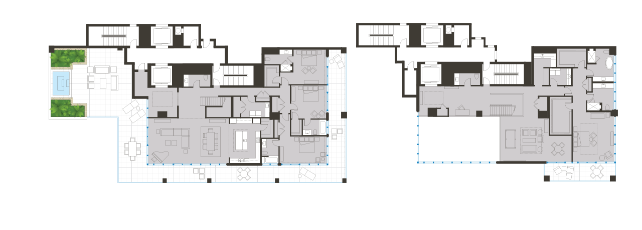Penthouse Floorplan 02 BLVD Sarasota