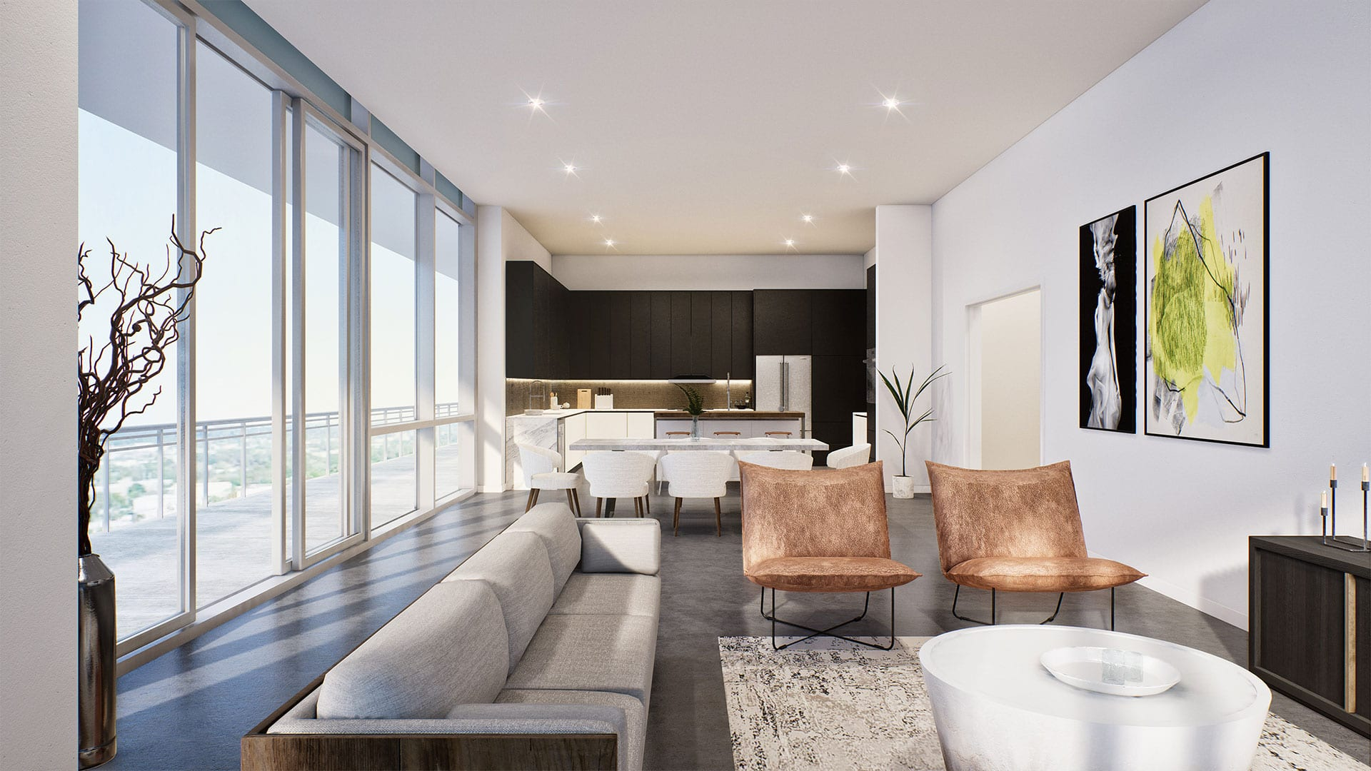 BLVD Sarasota Residences Renderings