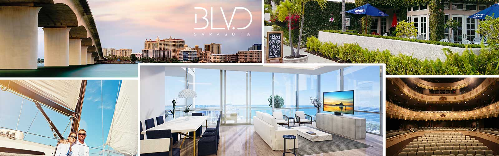 BLVD Sarasota, Downtown Sarasota, Luxury Condo