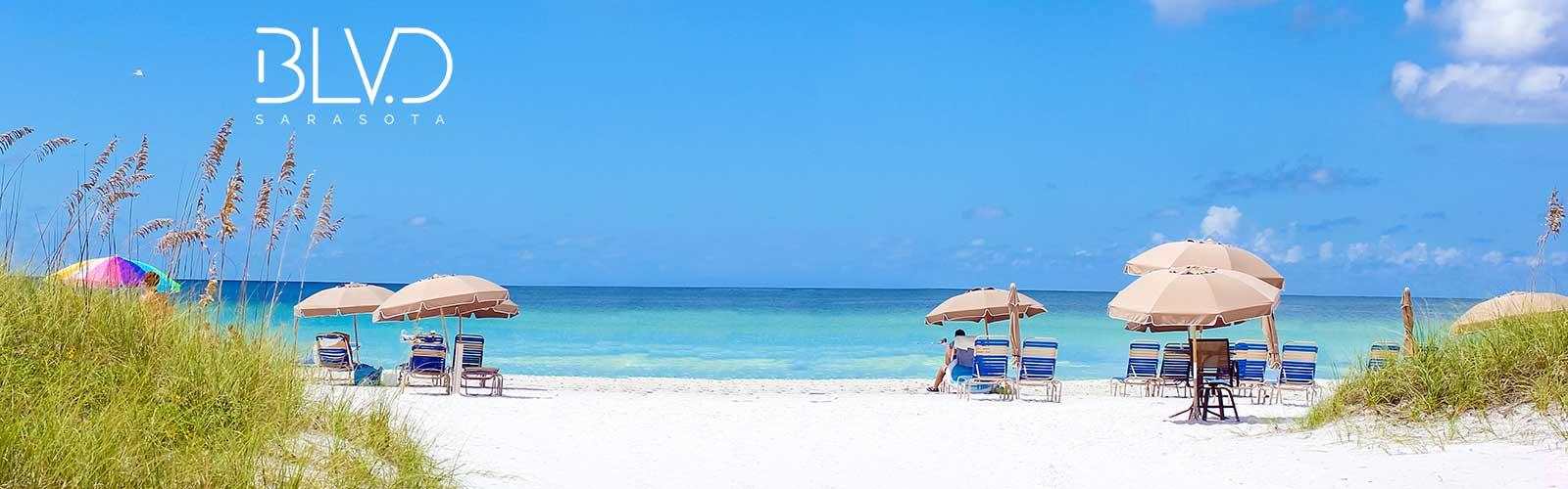 Sarasota beaches - Blvd Sarasota Downtown Sarasota Luxury Condo Siesta Key Beach Number 1 Beach