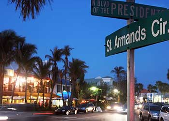 Bet You Didn't Know THIS About the Famous St. Armands Circle BLVD SArasota