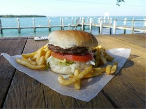 View: New Pass Grill and Bait Shop
