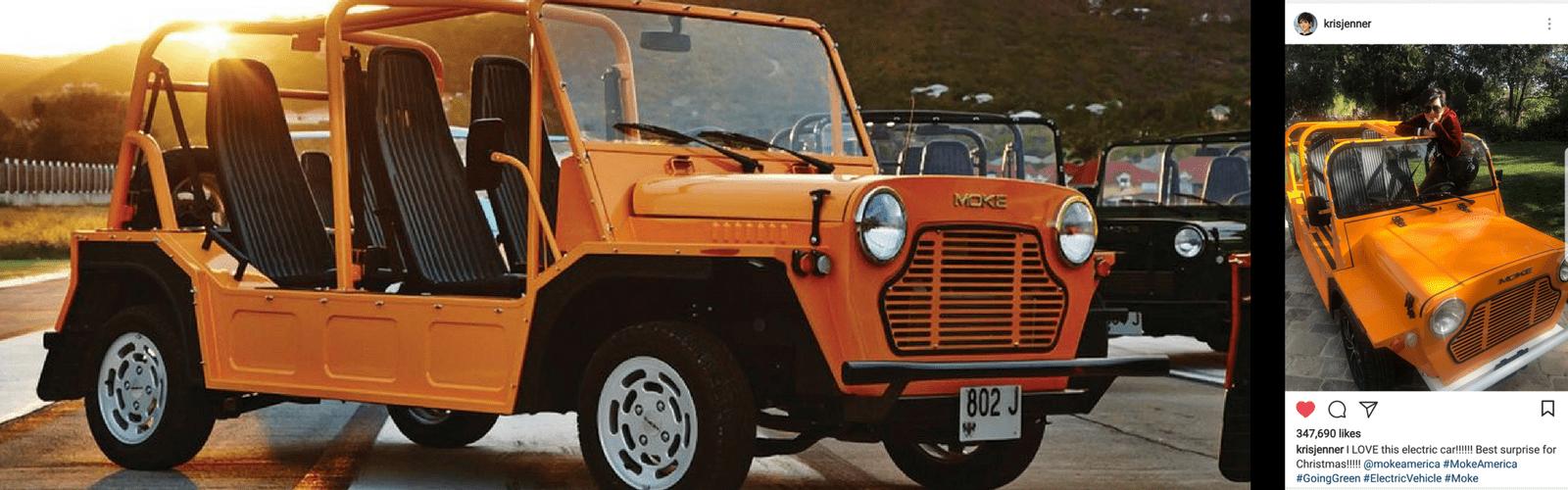 Kris Jenner Electric Jeep manufactured in Sarasota, Florida