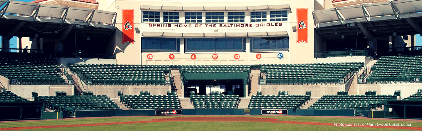 Ed Smith Stadium- Spring home of the Baltimore Orioles