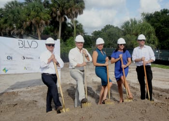 Developer breaks ground on 18-story condo tower BLVD SArasota
