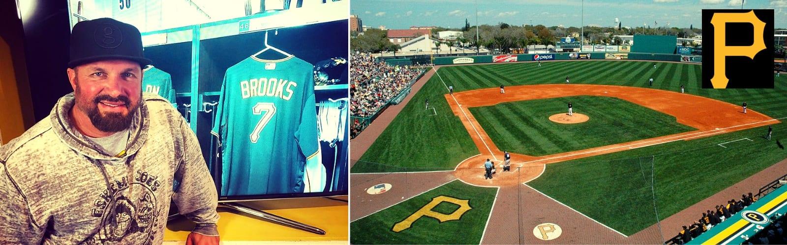 Garth Brooks Pittsburg Pirates Spring Training in Sarasota