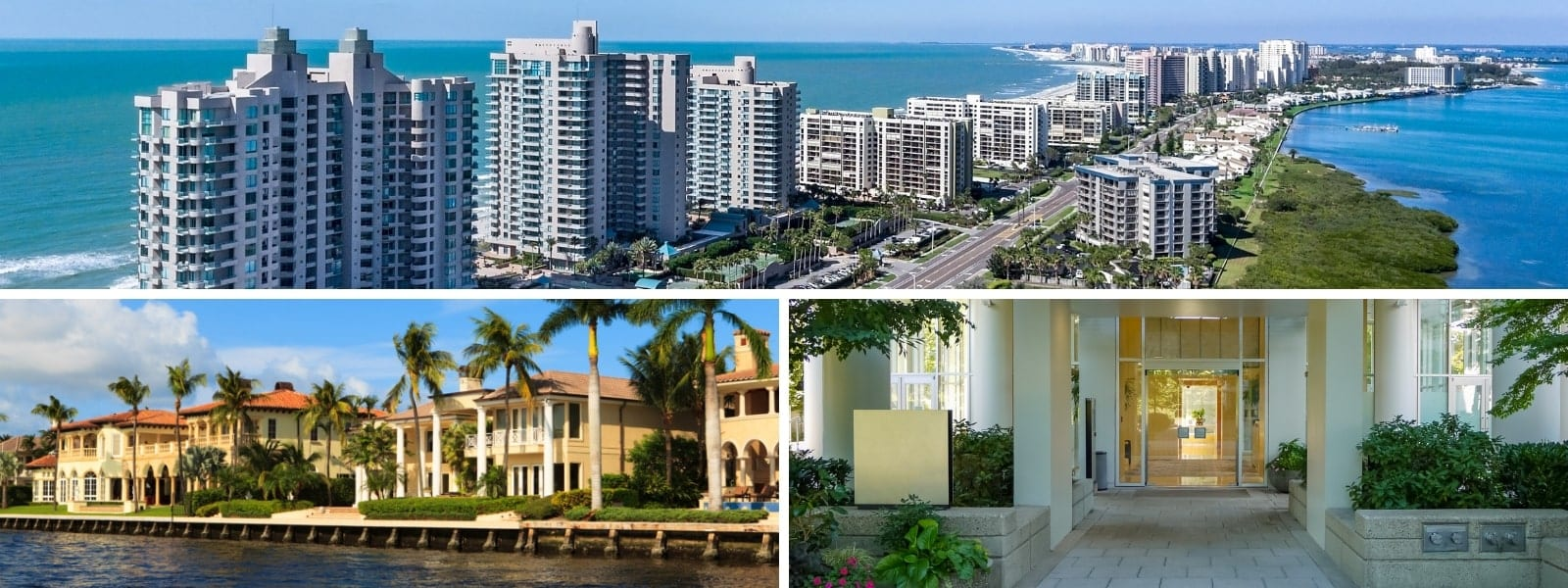Three Sarasota,FL Luxury Condominiums