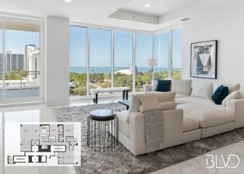 Which of these BLVD Sarasota Floorplans would you want to call home? BLVD SArasota