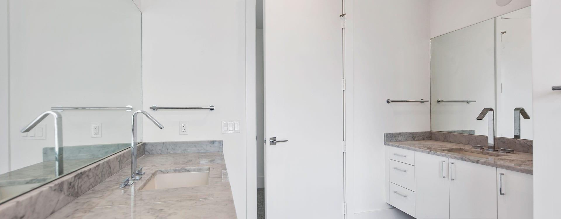 BLVD Sarasota Residence 1102 Bathroom double sinks