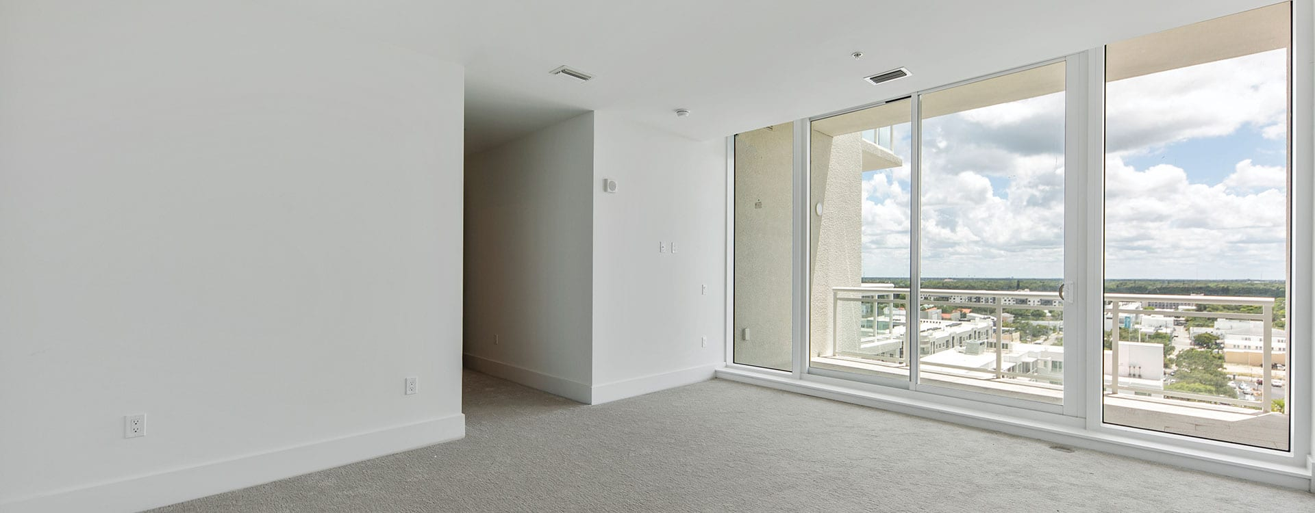 BLVD Sarasota Residence 1102 Bedroom with a view of downtown sarasota