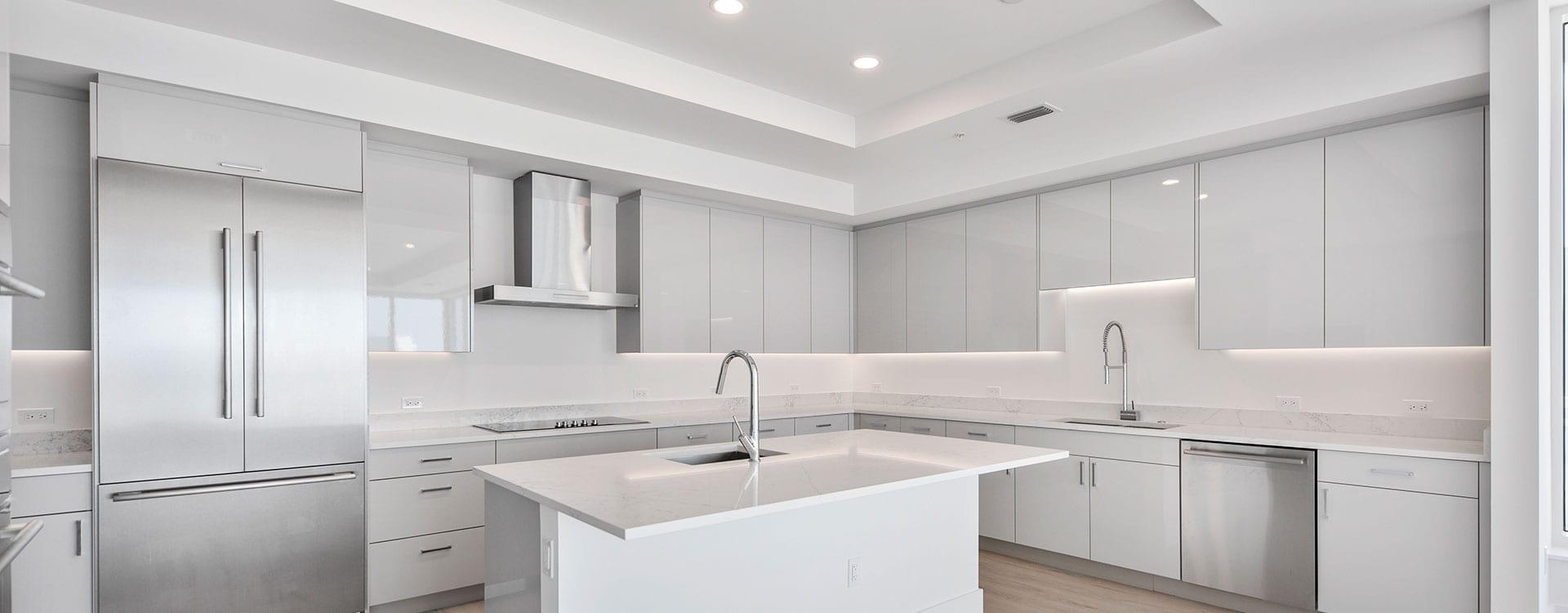 BLVD Residence 1204 Kitchen