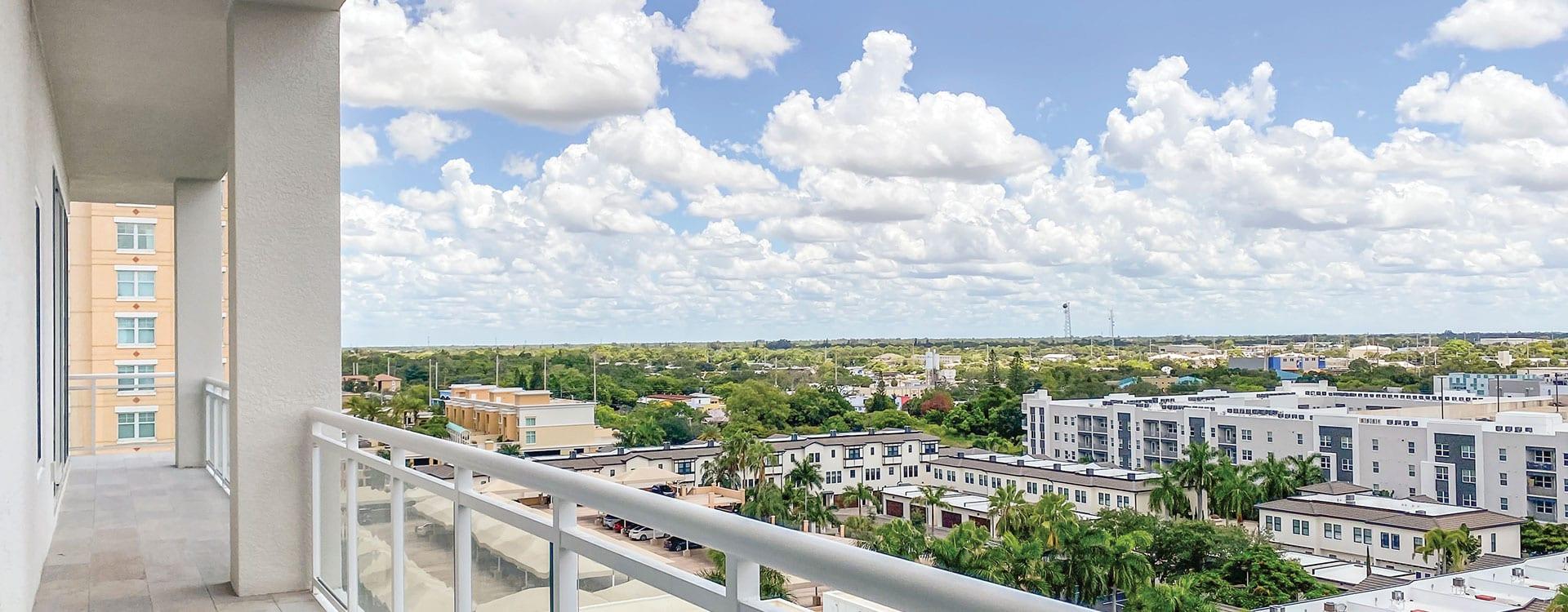 BLVD Sarasota Residence 901 Terrace view of sarasota