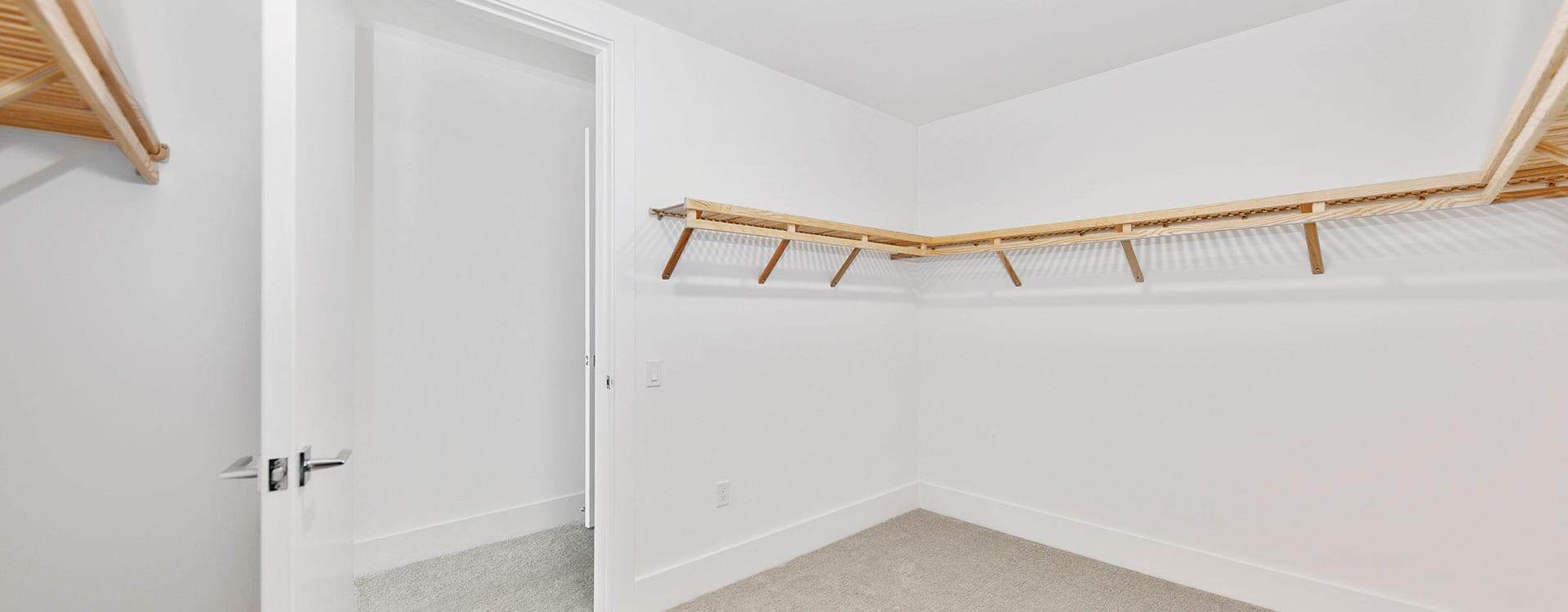 BLVD Residence 903 Bedroom Closet