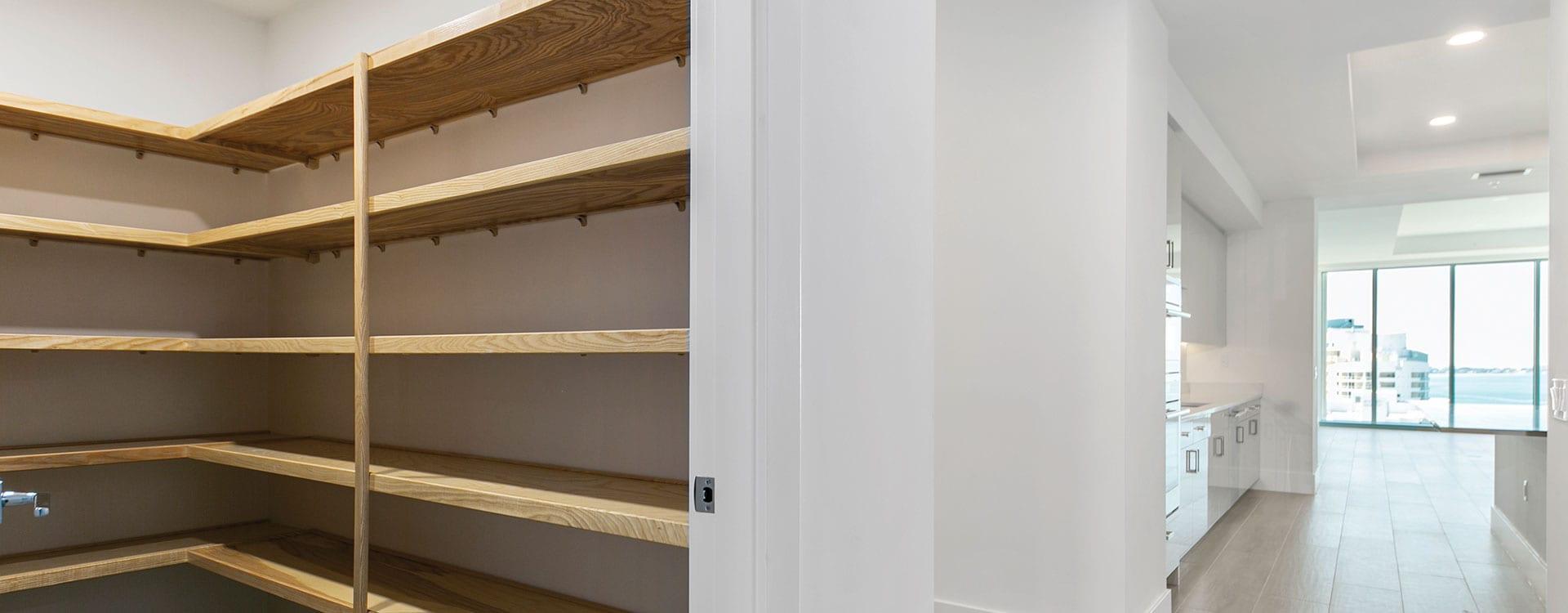 BLVD Residence 1503 Kitchen Pantry