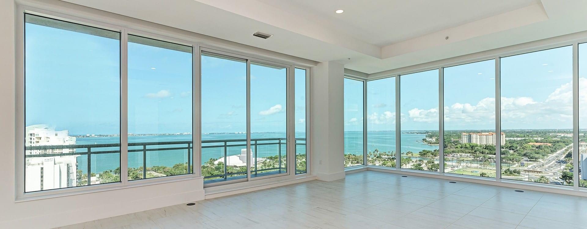 BLVD Sarasota Residence 1702 great room with views