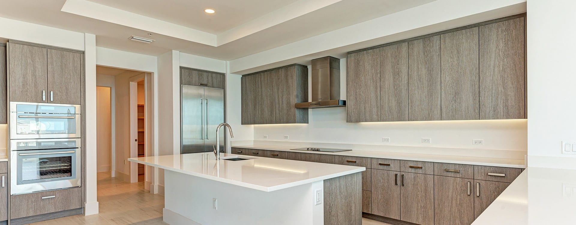kitchen at BLVD Sarasota Residence 1702